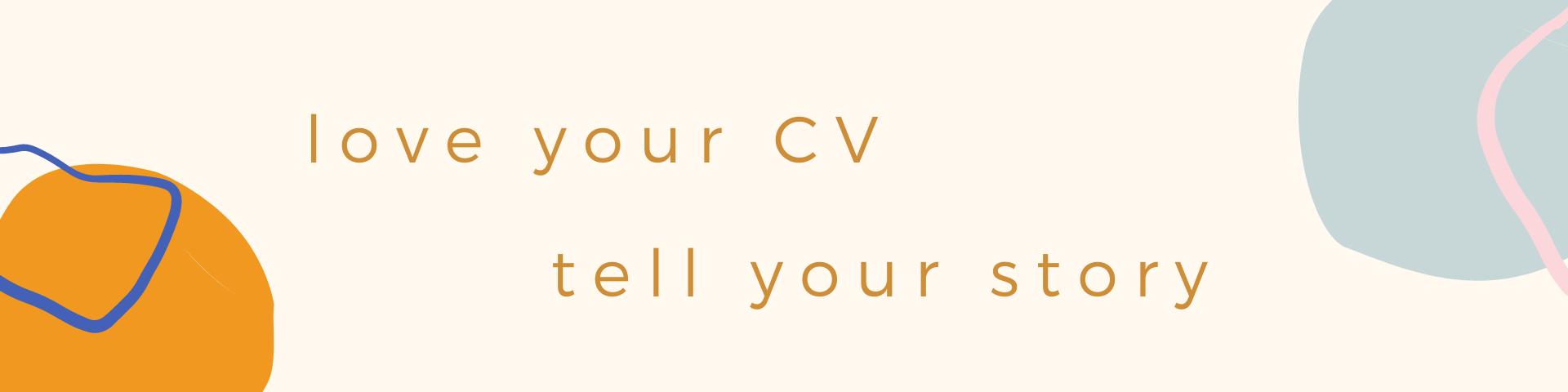 love your CV banner