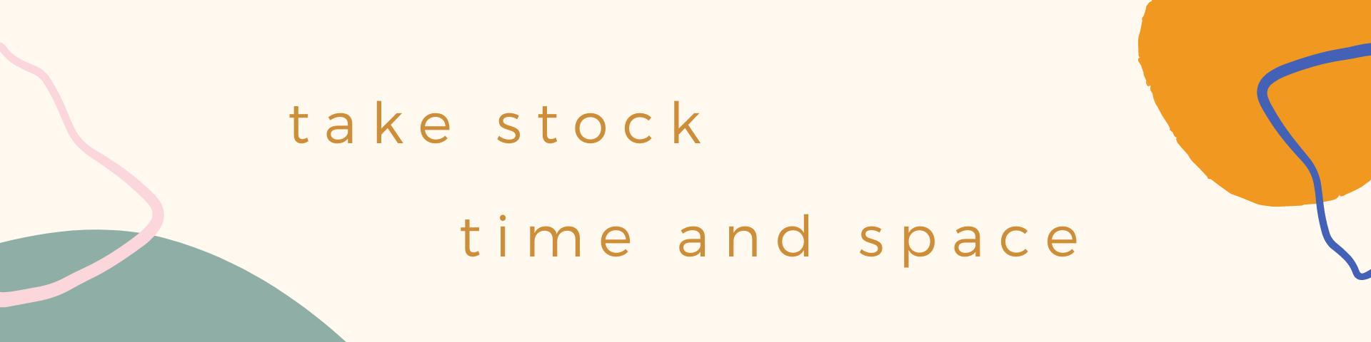 take stock banner